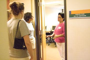 Multicultural center tour