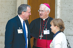 Jeff and Alice Heinzen, Synod on Family 2014
