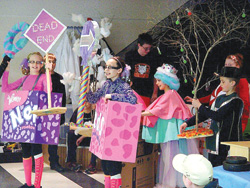 Dodgeville Odyssey of the Mind Group