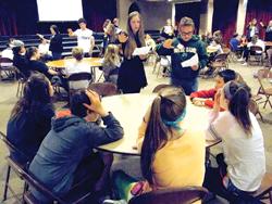Edgewood High School Peer Ministry Retreat