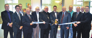 all saints ribbon cutting