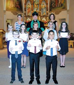 St. Peter, Ashton, 150th Graduation