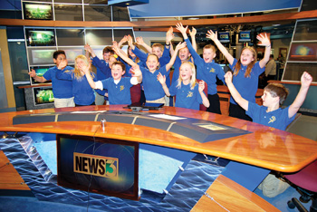 monroe students record program at wisc tv