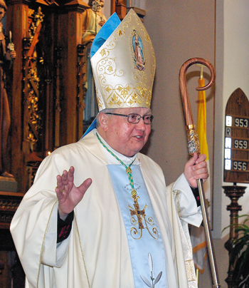 bishop morlino at ashton