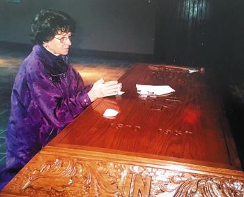 solanus casey casket