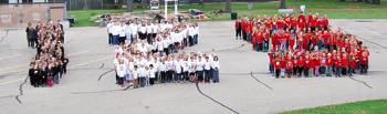 Sacred Hearts Students