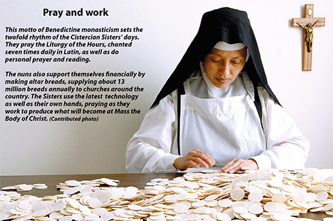 cistercians pray and work