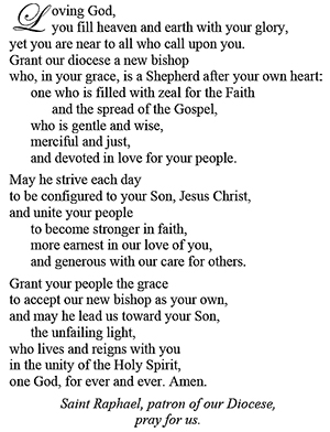 new bishop prayer