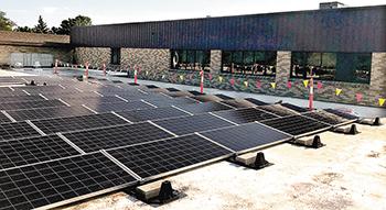 st dennis solar panels
