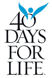 40 days for life logo